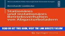 [READ] EBOOK Stationäres und instationäres Betriebsverhalten von Abgasturboladern