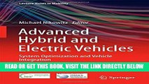 [READ] EBOOK Advanced Hybrid and Electric Vehicles: System Optimization and Vehicle Integration