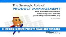 [Free Read] Strategic Role of Product Management Free Online