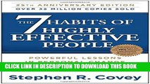 [Free Read] The 7 Habits of Highly Effective People: Powerful Lessons in Personal Change Free