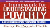 [Free Read] A Framework for Understanding Poverty 5th Edition Full Online