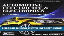 [FREE] EBOOK Bundle: Today s Technician: Automotive Electricity and Electronics Classroom and Shop