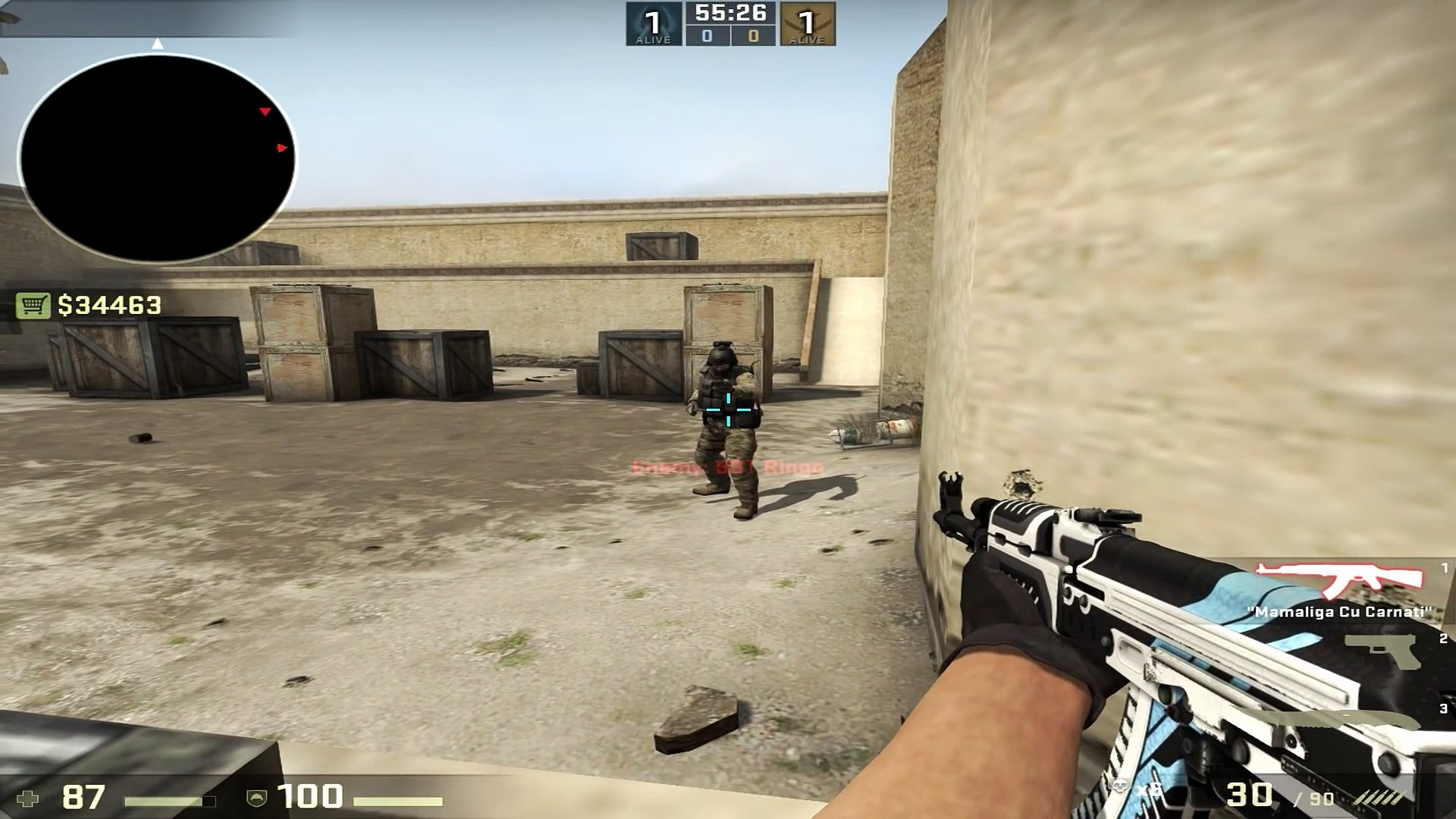 CSGO 4 3 Resolution Explained (1280x960 Stretched)