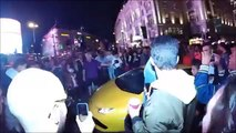 Secret supercar meet at Picadilly circus brings London to a standstill