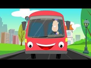 Wheels On The Bus | Nursery Rhymes | kids songs | rhymes