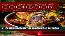 Best Seller Easy Thanksgiving Cookbook (Thanksgiving Cookbook, Thanksgiving Recipes, Thanksgiving,
