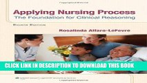 [READ] EBOOK Applying Nursing Process: The Foundation for Clinical Reasoning BEST COLLECTION