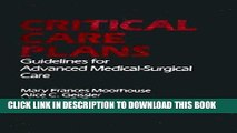 [READ] EBOOK Critical Care Plans: Guidelines for Advanced Medical Surgical Care BEST COLLECTION
