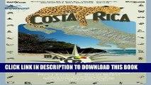 Best Seller Costa Rica: Waterproof Travel Map of Costa Rica Free Read