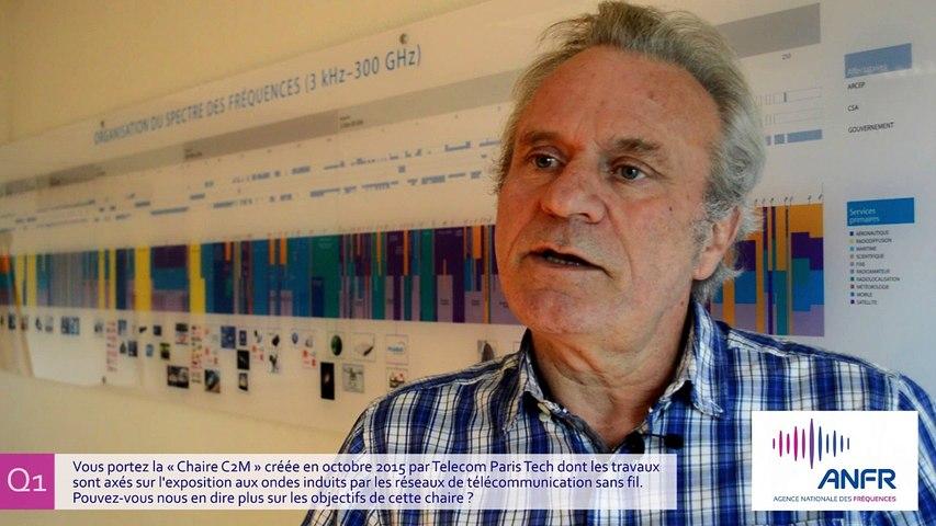 3 Questions à : Joe Wiart, Directeur de la Chaire C2M, Telecom ParisTech