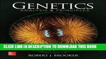 [BOOK] PDF Genetics: Analysis and Principles New BEST SELLER