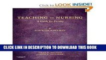 [FREE] EBOOK Teaching in Nursing: A Guide for Faculty, 4e (Billings, Teaching in Nursing: A Guide