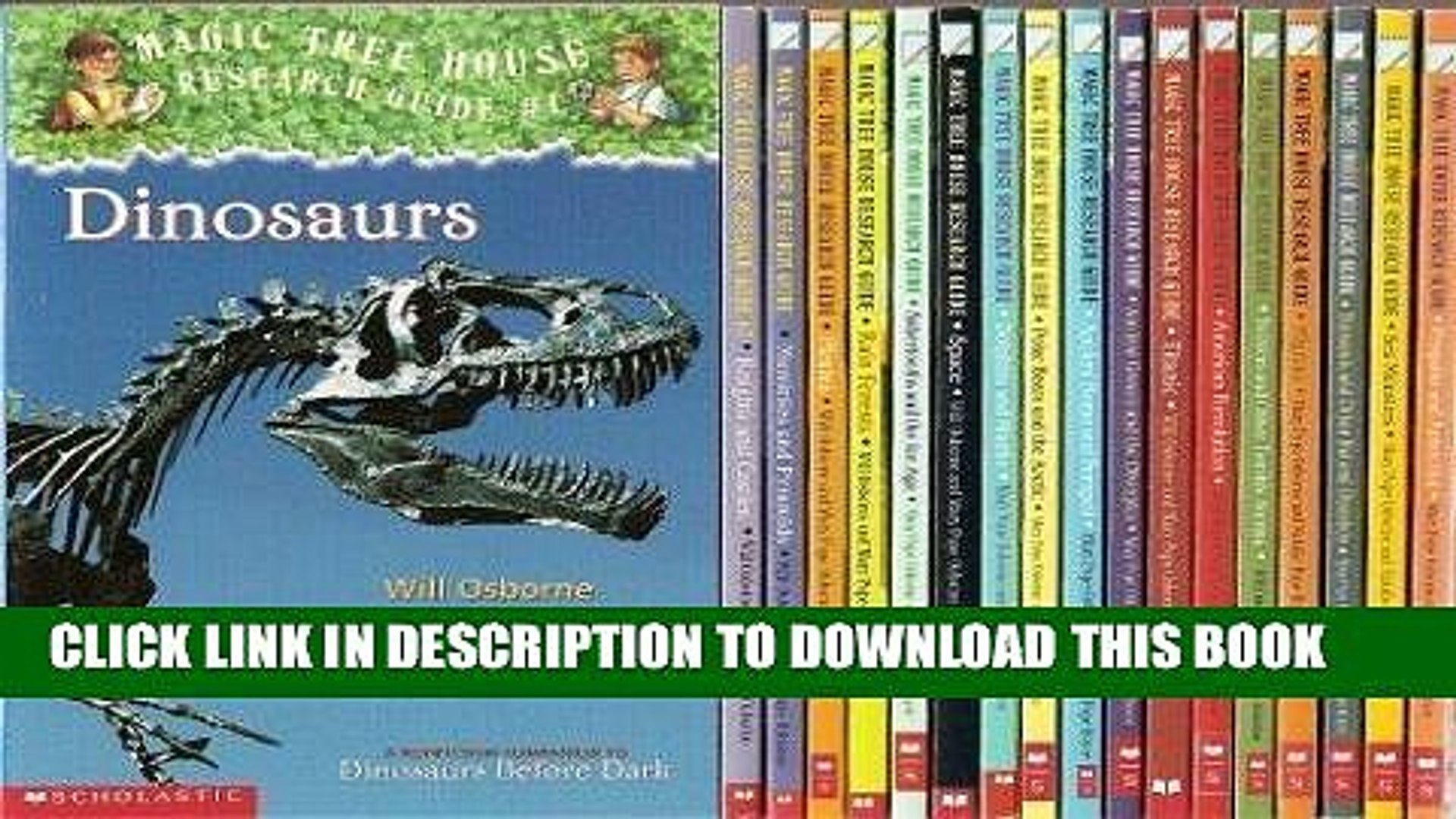 Ebook The Magic Tree House Research Guide 18-Book Set (American Revolution, Ancient Greece and the