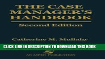 [READ] EBOOK the Case Manager s Handbook BEST COLLECTION