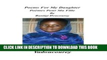 [PDF] Poems for My Daughter/Poemes pour Ma Fille [Online Books]