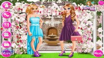 Frozen ELSA and Princesses wedding day - ELSA Frozen and ANNA dress up games for girls
