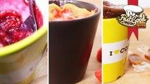 Compilation MugCake : Nutella caramel, Fraises Tagada et Tarte framboises