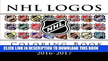 Read Now NHL Logos Coloring Book: All 30 National Hockey League team logos to color - Excellent