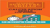 [READ] EBOOK Calculation Skills for Nurses BEST COLLECTION