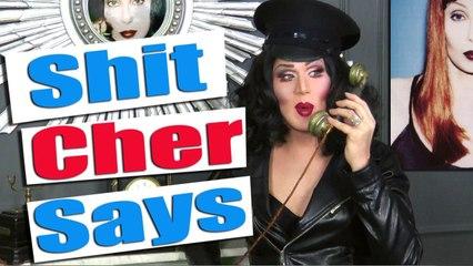 Shit Cher says (Besteiras que a Cher Fala)   Charlie Hides Português