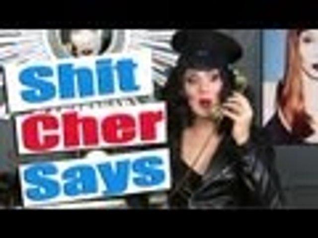 Shit Cher says (Cher dice... chorradas)   Charlie Hides Español