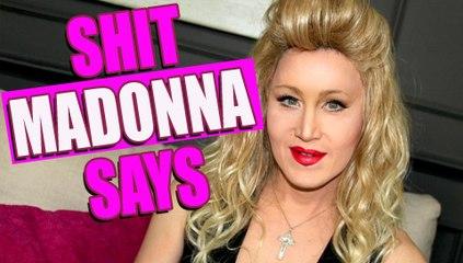 Shit Madonna Says (Mist,den Madonna erzählt) | Charlie Hides Deutsch