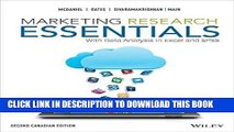 [PDF] Marketing Research Essentials, 2nd Canadian Edition Full Online