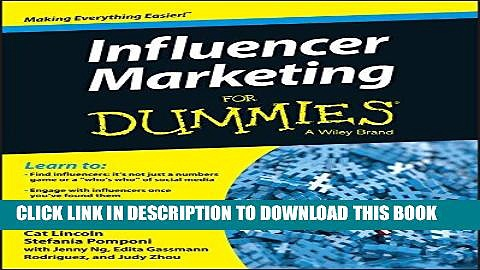 [PDF] Influencer Marketing For Dummies Full Online