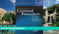 Books to Read  Principles of Criminal Procedure (Concise Hornbooks)  Full Ebooks Most Wanted
