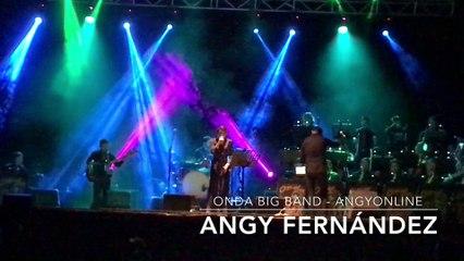 """Angy canta """"Rolling In The Deep"""" de Adele, en el concierto con la banda Onda Big Band"""