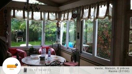 A vendre - Maison/villa - Reims (51100) - 6 pièces - 133m²