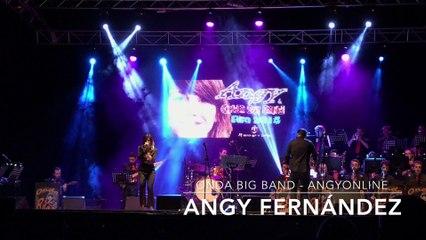 """Angy canta """"Lady Marmalade"""" de Christina Aguilera, en el concierto con la banda Onda Big Band"""