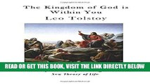 [READ] EBOOK The Kingdom of God is Within You: Christianity not as a Mystic Religion but as a New