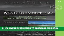 [Free Read] Management 3.0: Leading Agile Developers, Developing Agile Leaders Free Online