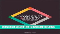 [Free Read] JavaScript and jQuery: Interactive Front-End Web Development Hardcover Full Online