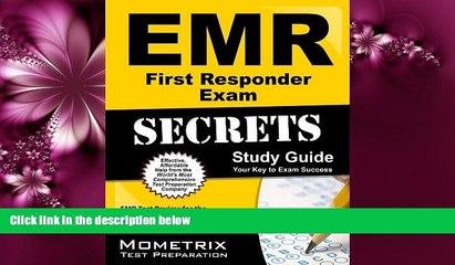 Choose Book EMR First Responder Exam Secrets Study Guide: EMR Test Review for the NREMT Emergency