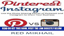 [Free Read] PINTEREST INSTAGRAM bundle: Use the Photo Sharing Power of Pinterest and Instagram to