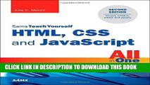 [Free Read] HTML, CSS and JavaScript All in One, Sams Teach Yourself: Covering HTML5, CSS3, and