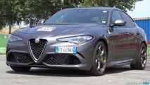 Alfa Romeo Giulia Quadrifoglio SOUND Start Up & Revs - Normal Mode vs. Race Mode
