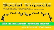 [Ebook] Measuring and Improving Social Impacts: A Guide for Nonprofits, Companies, and Impact