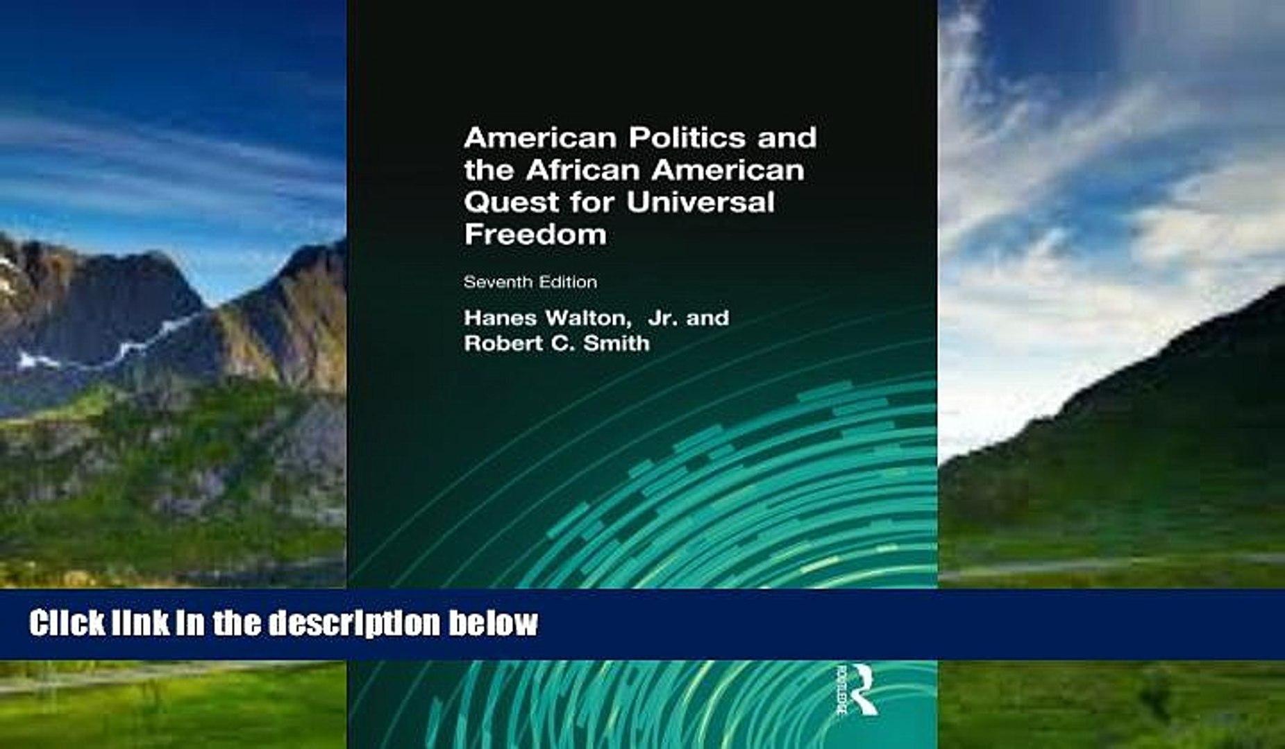 Books to Read  American Politics and the African American Quest for Universal Freedom  Best Seller
