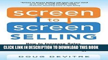 [New] Ebook Screen to Screen Selling: How to Increase Sales, Productivity, and Customer Experience