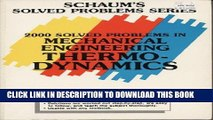 Read Now 2000 Solved Problems in Mechanical Engineering Thermodynamics (Schaum s Solved Problems