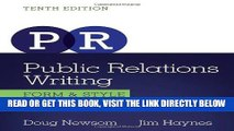 Read Now Public Relations Writing: Form   Style (Wadsworth Series in Mass Communication and