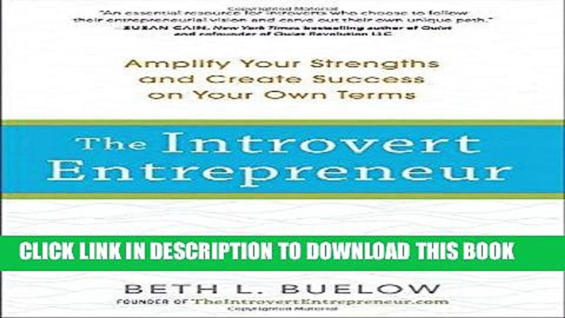 The introvert entrepreneur pdf free download windows 10