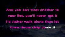 Sia - Confetti ¦ Piano Karaoke Instrumental Lyrics Cover Sing Along