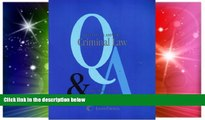 READ FULL  Questions   Answers: Criminal Law- Multiple Choice and Short Questions and Answers