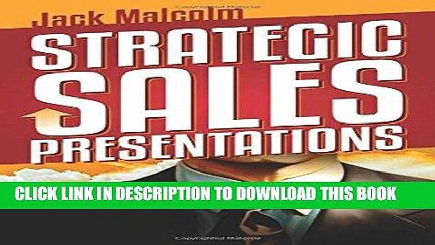 [New] Ebook Strategic Sales Presentations Free Online