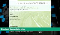 Big Deals  Sum and Substance Audio on Criminal Procedure, 5th (CD) (Sum + Substance)  Full Read