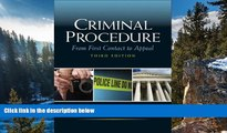 Big Deals  Criminal Procedure: From First Contact to Appeal (3rd Edition)  Best Seller Books Most